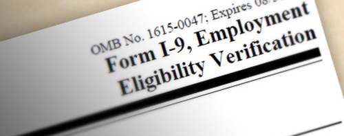 New Version of Form I-9